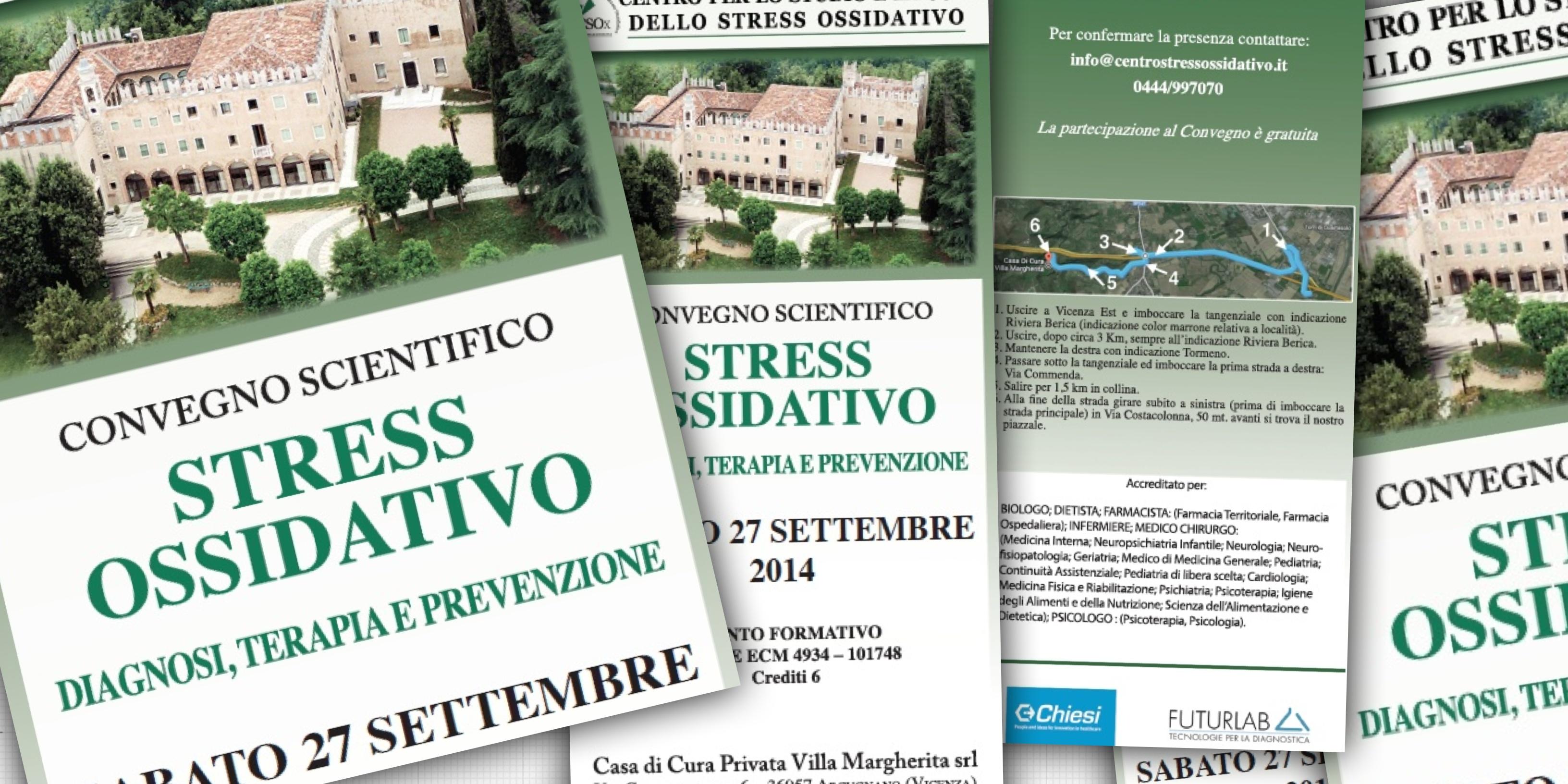 27/09/14 Convegno: Stress Ossidativo Diagnosi, Terapia e Prevenzione