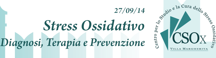 Video e Slide Congresso Stress Ossidativo 27/09/14