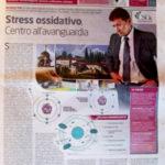 Rassegna Stampa - Stress Ossidativo CSOx Centro all'avanguardia...