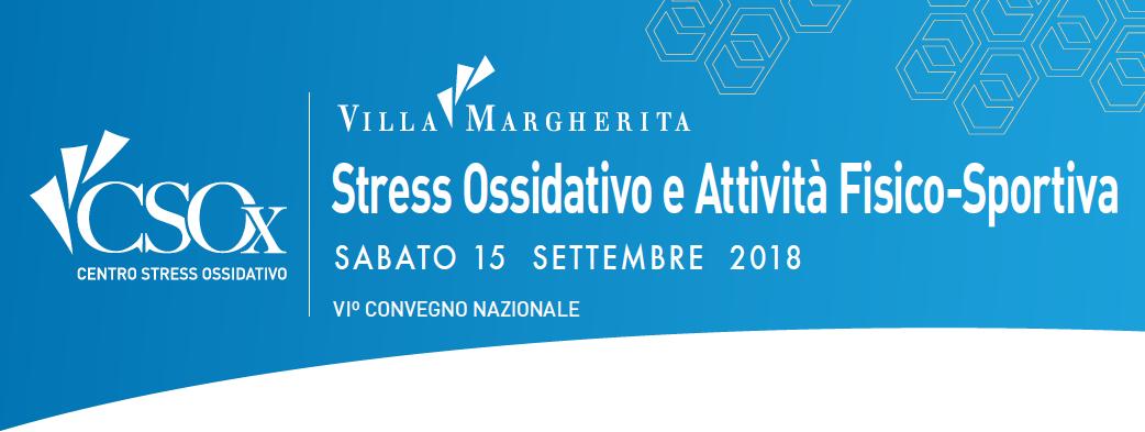 Congresso: Stress Ossidativo e Attività Fisico-Sportiva
